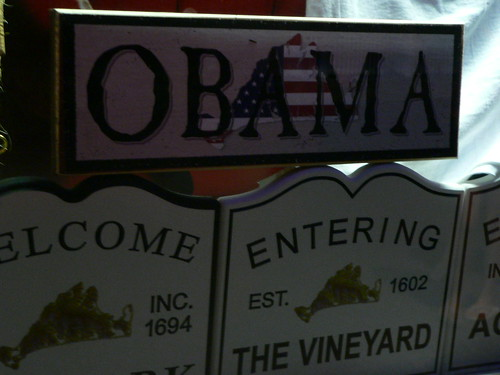 Barack Obama Merchandise, Martha's Vineyard