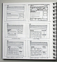 Wireframe Sketch  - HostHead (Cristian Bosch) Tags: sketch ia wireframe userexperience