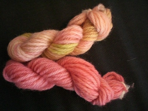 September yarn samples
