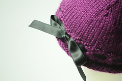 Children's Knit Hat (Ribbon Weave)