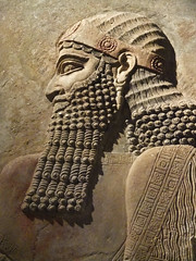 Relief  from the palace of King Sargon II in his capital city of Dur-Sharrukin (Khorsabad) (mharrsch) Tags: sculpture chicago king iraq royal palace relief orientalinstitute assyria sargonii khorsabad mharrsch dursharrukin heritagesite5458