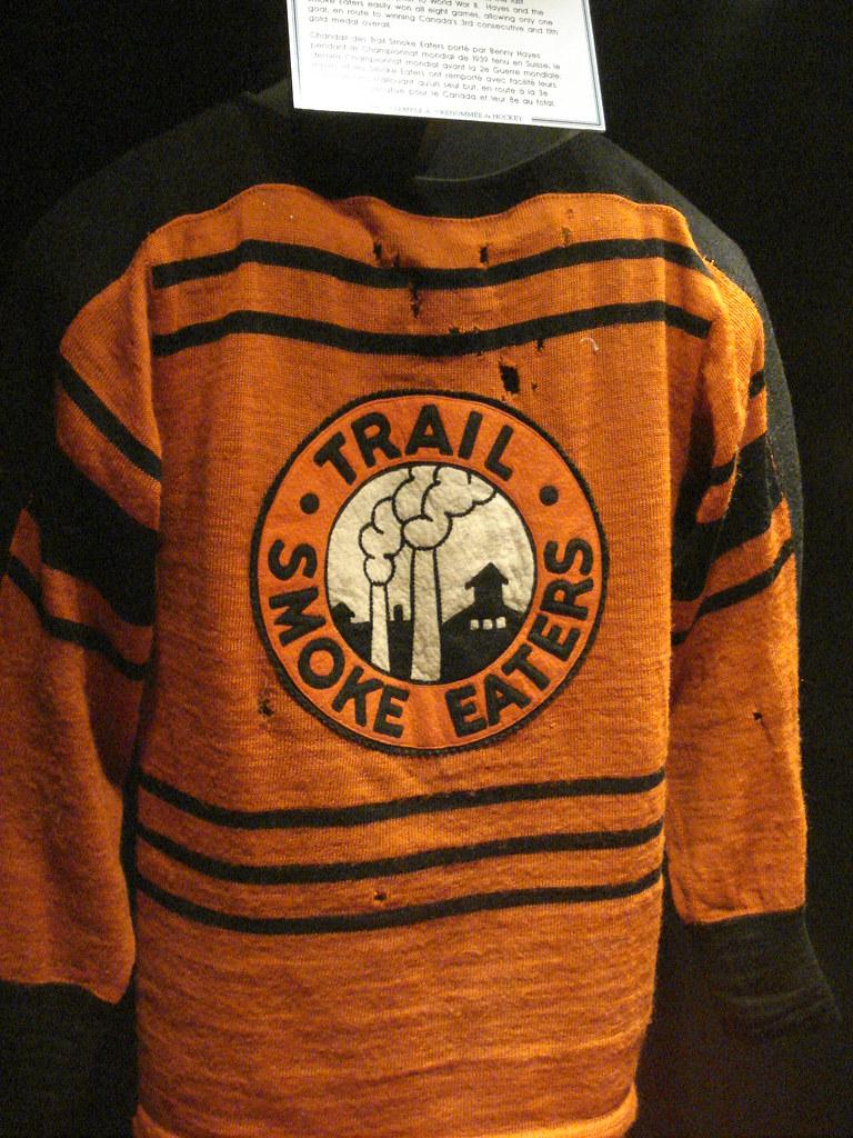 Trail (B.C.) Smoke Eaters jersey