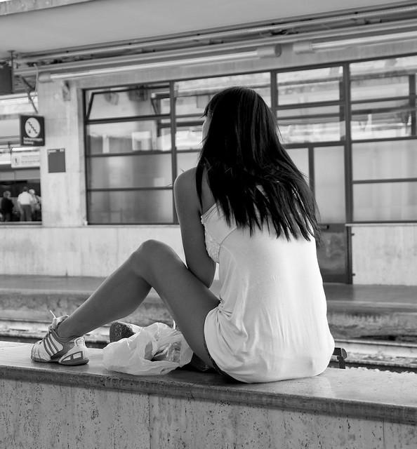 A' la gare