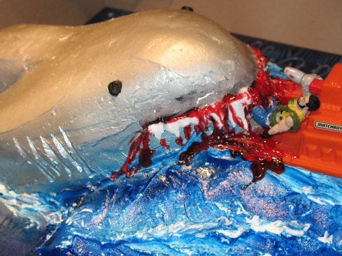 Jaws Cake 6 by you.