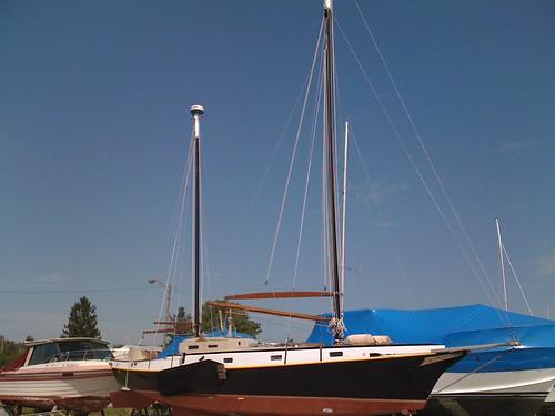 sailboat centennial masts rigging iphone gaff