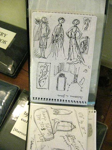 Gorey's original Dracula sketches
