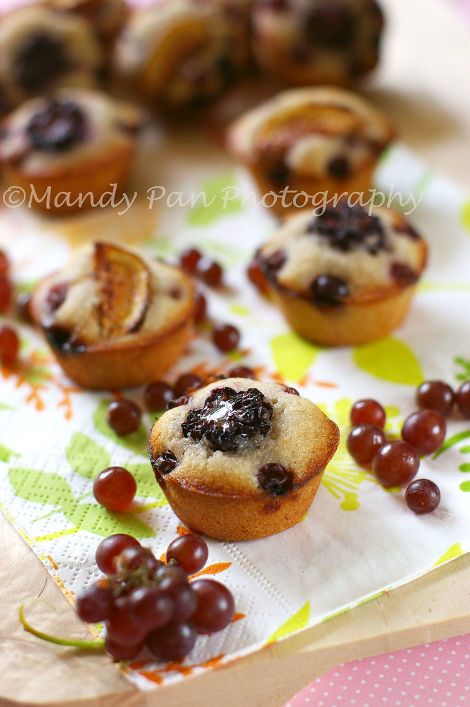 champagne grapes financiers
