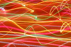 9.9.9. (Mattron) Tags: longexposure light abstract colors rainbow christmaslights coloredlights streaks