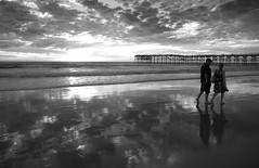 Walk with me (San Diego Shooter) Tags: sunset wallpaper sandiego pacificbeach desktopwallpaper sandiegosunset sandiegodesktopwallpaper