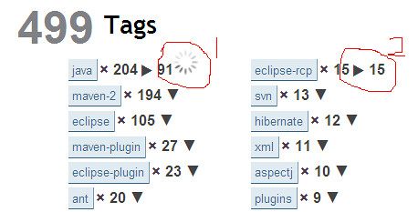 tags query screenshot