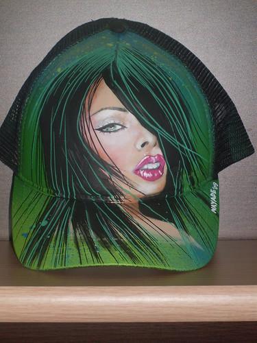 gorra verde