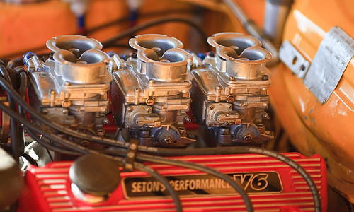Racing Capri V6 Engine