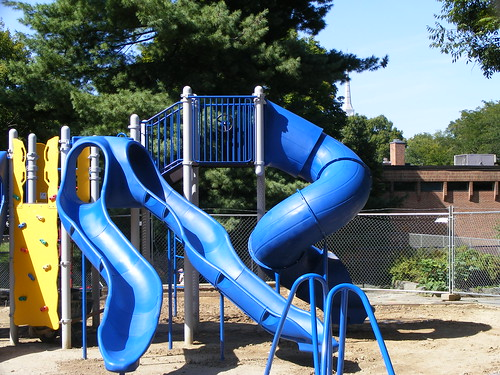 New Play Equipment at Woodside Park