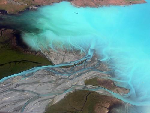 Lake Tekapo Aerial View