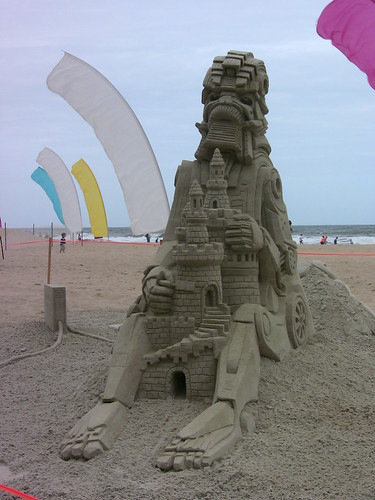 Virginia Beach End of Summer Sandcastle Competition