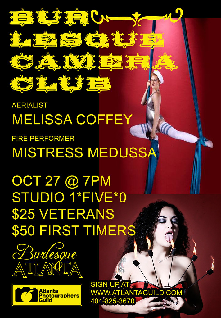 BURLESQUE CAMERA CLUB OCT. 27