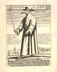 The Plague Doctor (Batty aka Photobat) Tags: costume engraving middleages plague plaguedoctor doctormask facinatingimage galleryaddiction paulfrst whatswiththeniceshoeswouldntbootsbemorepractical birdbeakmask earlyformofhazmatsuit medievalhazmatsuit beakmaskwithglasses