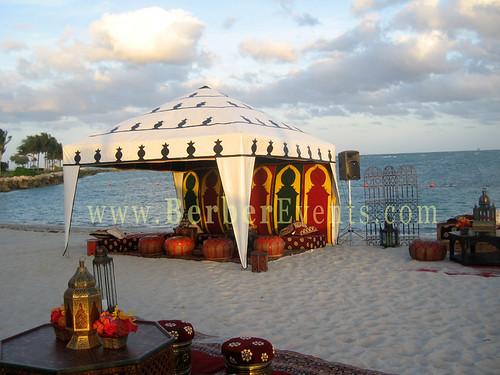 Moroccan Theme Wedding at Fisher Island, Forida