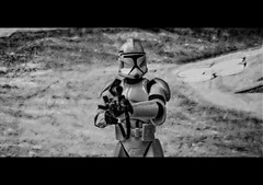 Halt ! You're not allowed here ! (BOSSoNe0013) Tags: blackandwhite bw trooper starwars noiretblanc nb stormtrooper clone thegimp hdr clonetrooper 3xp tonemap qtpfsgui laguerredestoiles 7daysofshooting monomonday week16notquitehuman dpstoys