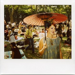the jazz-age lawn party lady (instant satisfaction) Tags: new york city nyc newyorkcity party newyork polaroid island image lawn jet pro spectra expired governorsisland governors expiredfilm minsky jazzage spectrapro jazzagelawnparty minskysisters expired072009 jetminsky