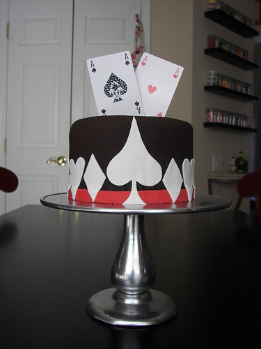Poker Cake inspired by Toni...