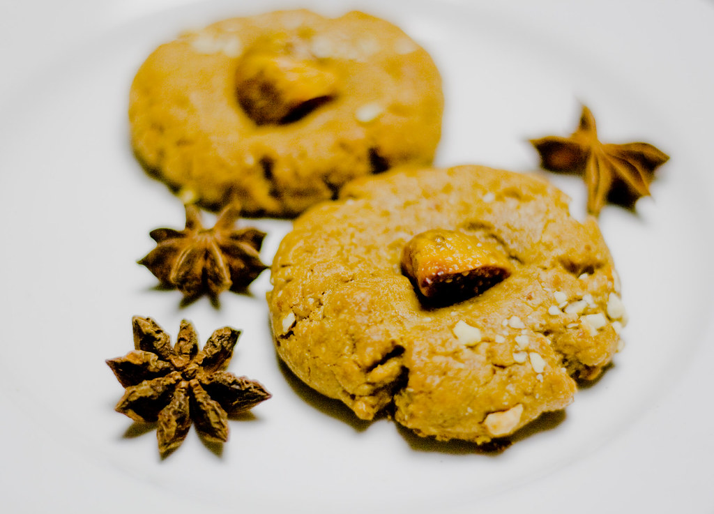 Fig-Smushed Anise Almond Cookies - 38:365