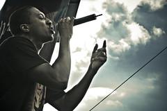 Lecrae @ Rock the River Minneapolis (PhilipRood.com) Tags: urban music minnesota festival clouds outdoors concert live stpaul minneapolis christian event hiphop rap twincities rapper outreach franklingraham christianhiphop christianrap rocktheriver