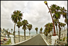 Oceanside Pier (Mark Payton Photography) Tags: california canon eos pier wideangle fisheye oceanside 1ds markpayton canon15mmf28 missoulaphotographer fisheyelenscanon15mmf4canonef15mmf4wideangle markpaytonphotography