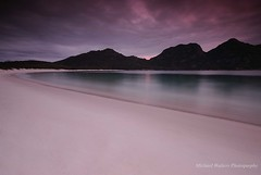 Midnight Wine (mick walters/Billy) Tags: longexposure seascape australia tasmania wilderness wineglassbay freycinet colsebay