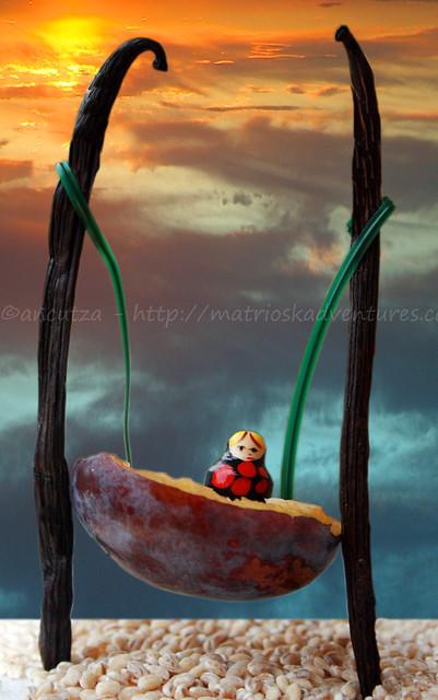 foto fantasiosa frutta