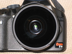 camera slr canon lens rebel bend hood t1i