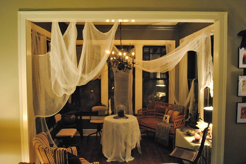 Halloween Sunroom