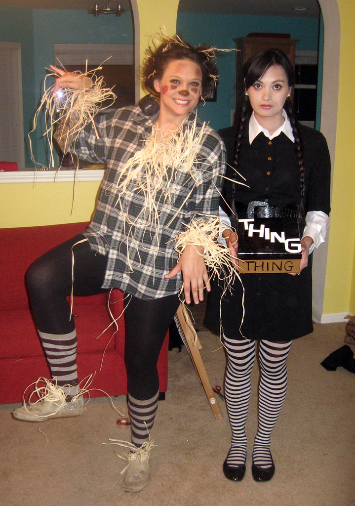 Scarecrow & Wednesday