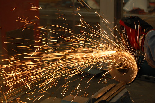 Let the Sparks Fly - Makita 9557NB Angle Grinder
