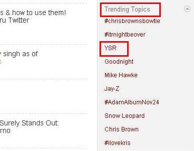ysr-trending