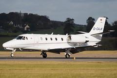 D-CAJK - 560-5670 - Private - Cessna 560XL Citiation XLS - Luton - 091104 - Steven Gray - IMG_3413