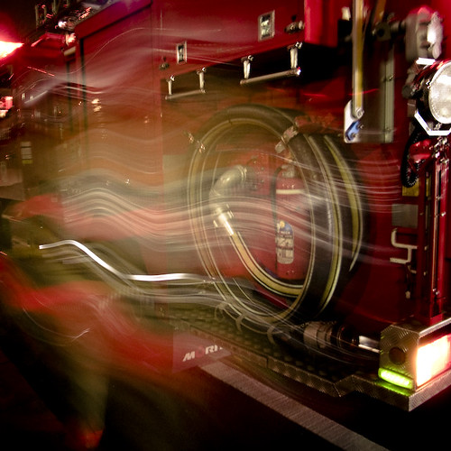 Fire Fighters Blur