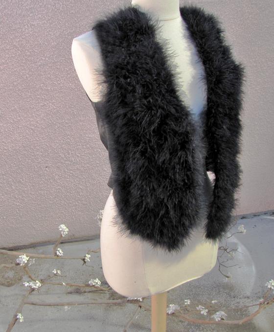 marabou-feather-vest-DIY-8
