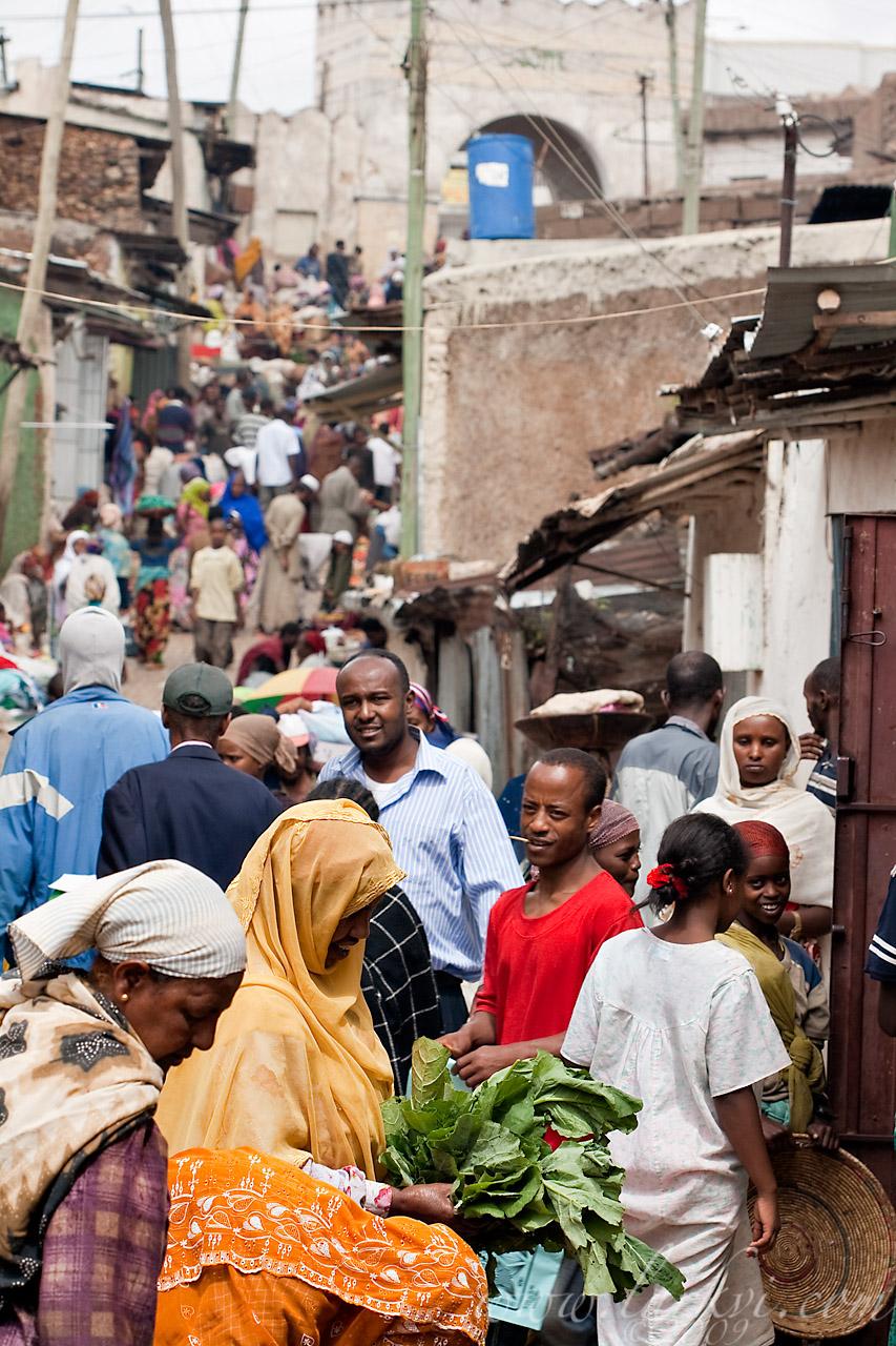 Street Market, Harar, Ethiopia, 2009