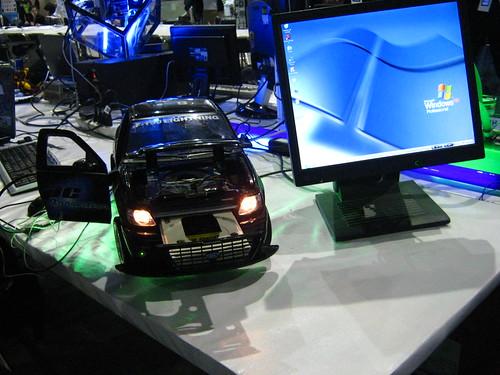 CPU montada en un carrito