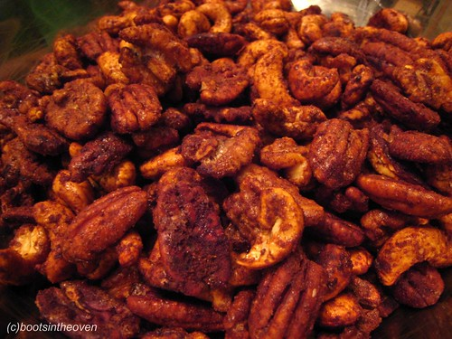 The finished nuts