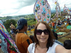 Me at the Day of the Dead Festival.