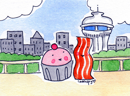 Cupcake and Bacon in Seattle