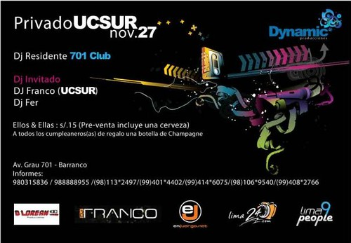 Privado Ucsur - 701 Club
