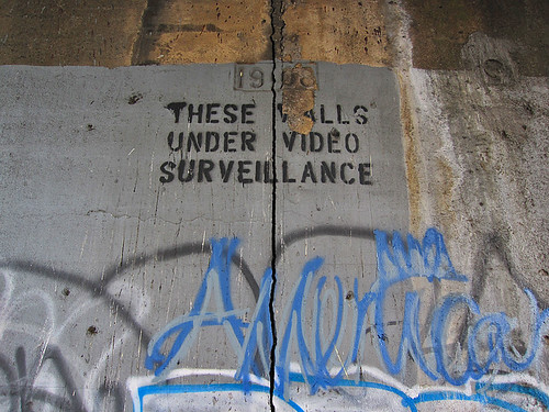 THESE WALLS UNDER VIDEO SURVEILLANCE