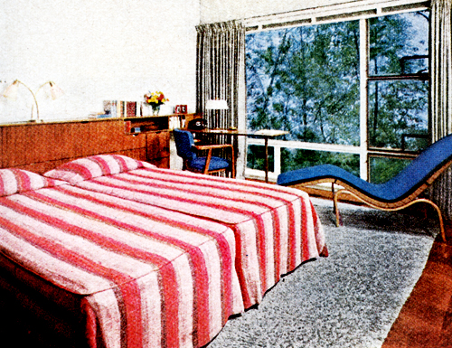 Mid-Century Living: Early \'50s Bedrooms (1950-55)