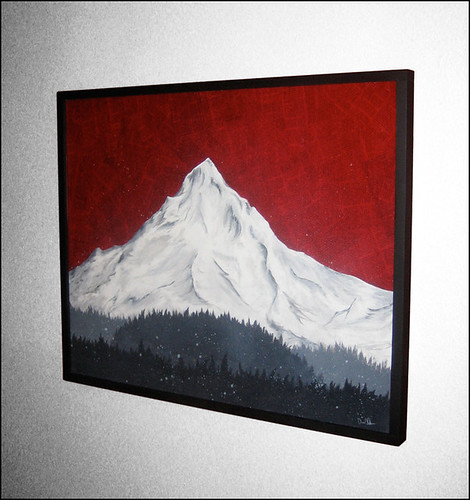 Mount Hood Framed