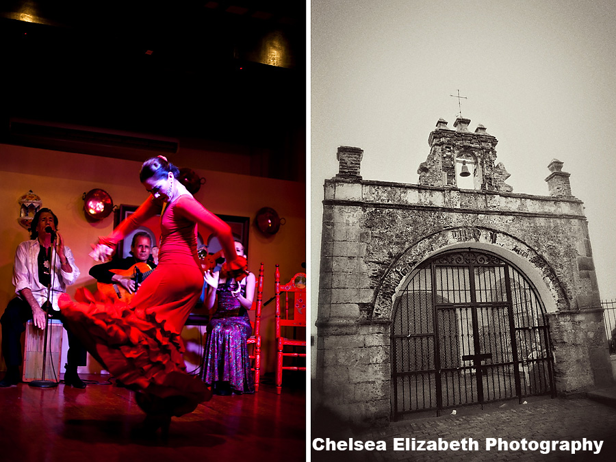 Puerto Rican Dancers and Architecture