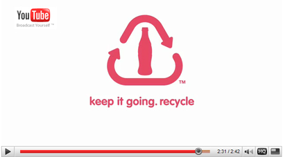 klik om de youtube video Recycle : The Life Story of a Coke Bottle te starten