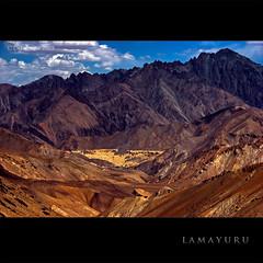 ~ Sitting on the moon!! - Lamayuru (CoSurvivor) Tags: india mountain monument landscape buddha buddhist buddhism roadtrip monastery kashmir himalaya hdr himalayas ladakh jammuandkashmir naropa lamayuru fotula cosurvivor lehkargilsrinagarhighway